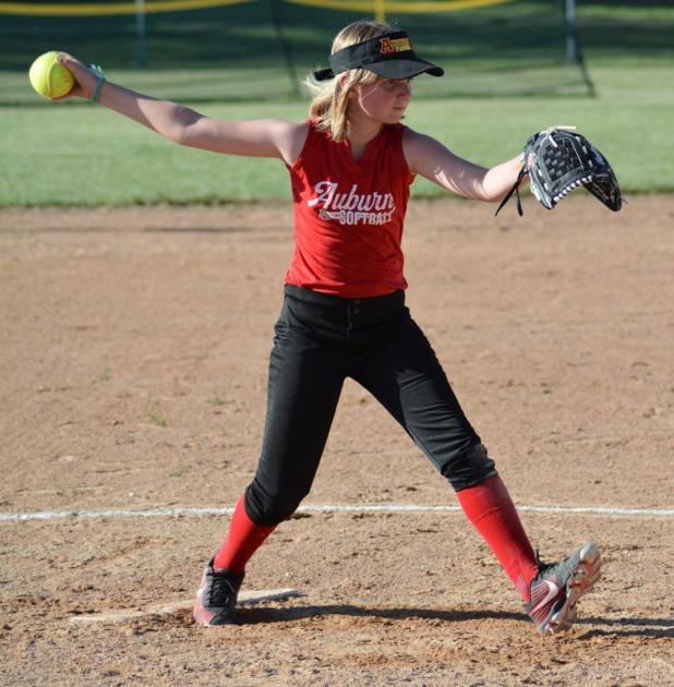 Auburn City Rec Softball Action