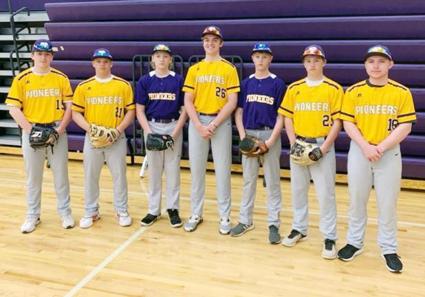 Eagles Members of Cooperative Baseball Team