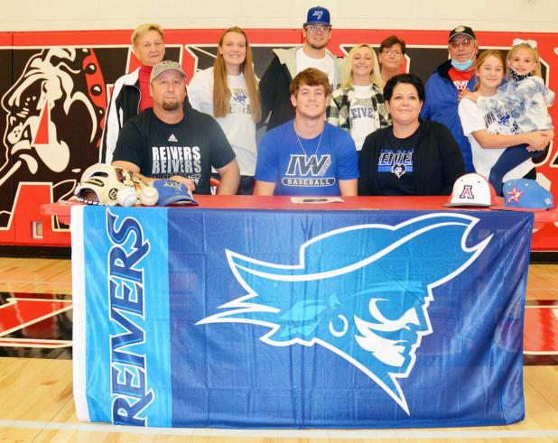 Auburn's Brody Darnell Signs With Iowa Western Community College Reivers Baseball Program