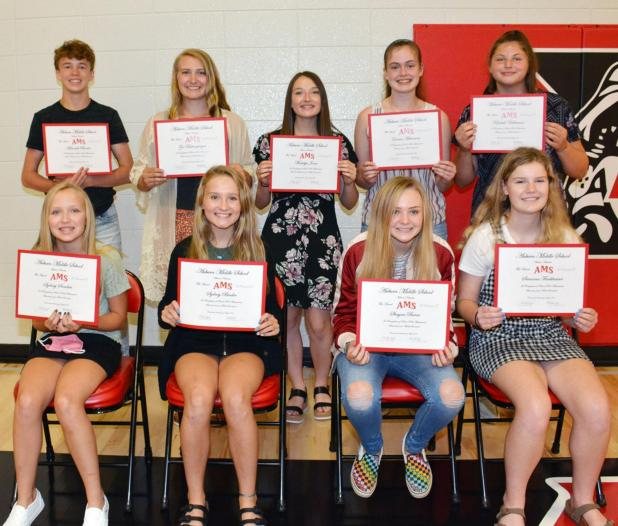 Eighth Grade Academic Achievements Of Auburn High Class of 2024 Saluted