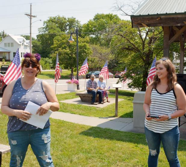 Resilience of Brownville, Nemaha County Residents Lauded During Freedom Day