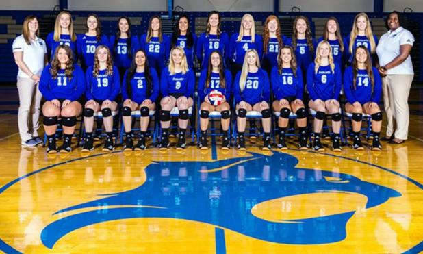 Bobcat Volleyball Team Among Top in AVCA Academically