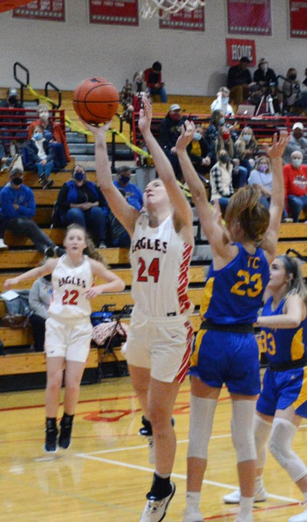 Lady Eagles Go 3-2 in Early Season Games