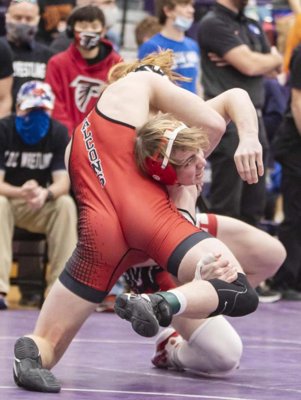 Hall Headed to State Wrestling