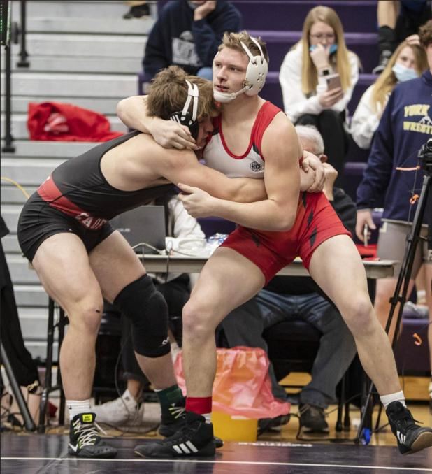 Brad Hall Will Represent AHS at 2021 State Wrestling Championships; Three Other Bulldogs Fell Just Sho