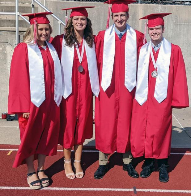 Diplomas Conferred on AHS Class of 2020 in Aug. 1 Outdoor Ceremony