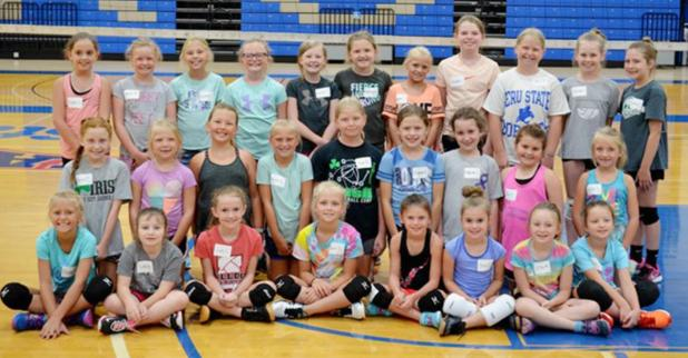 Peru State Hosted Three Volleyball Camps