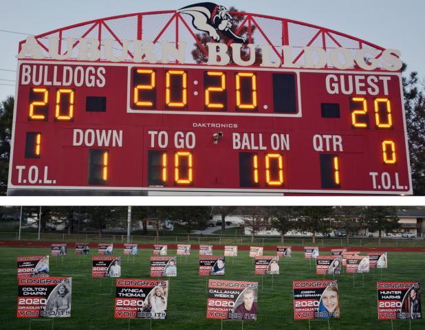 AHS Class of 2020 Saluted at Bulldog Stadium