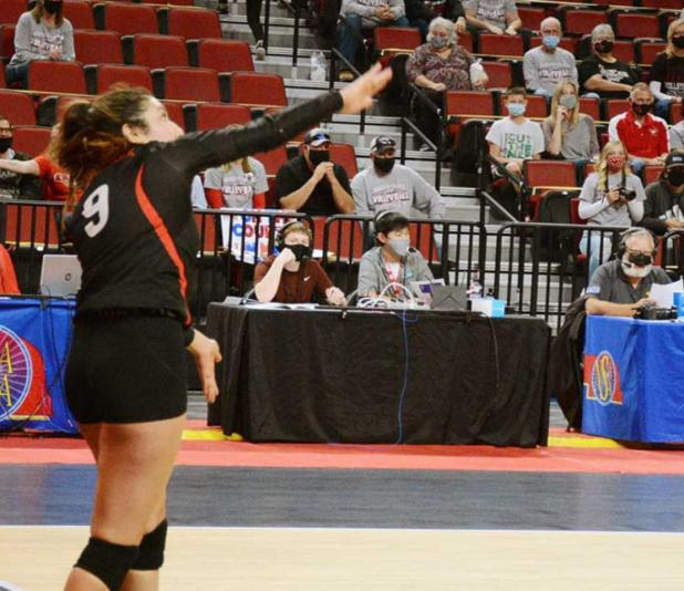 Lady Eagles Fall to 30-0 Pleasanton at D-1 State Tourney