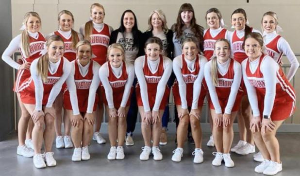 Bulldog Cheerleaders Three-Peat As Class C-1 State Champions