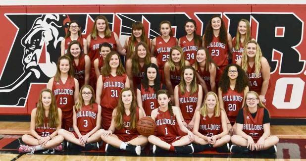 2017 Auburn Junior High Girls Basketball Team The Nemaha
