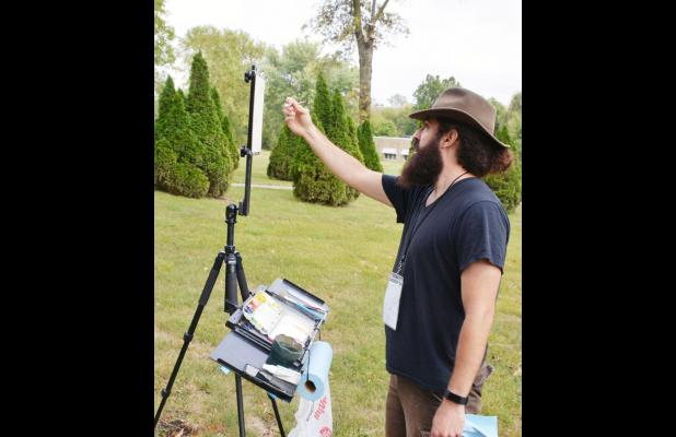 Plein Air Paint Out Attracts 16 Artists