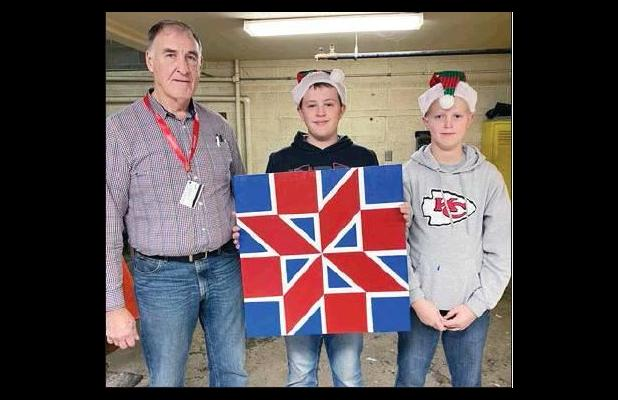 Barn Quilt Live Auctions at Johnson-Brock Home Games