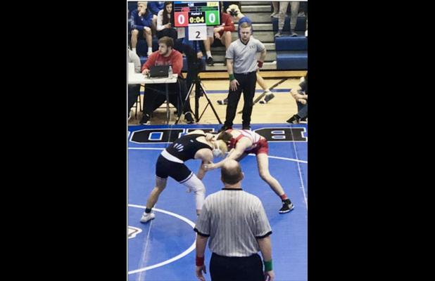 Ford Advances to State Wrestling
