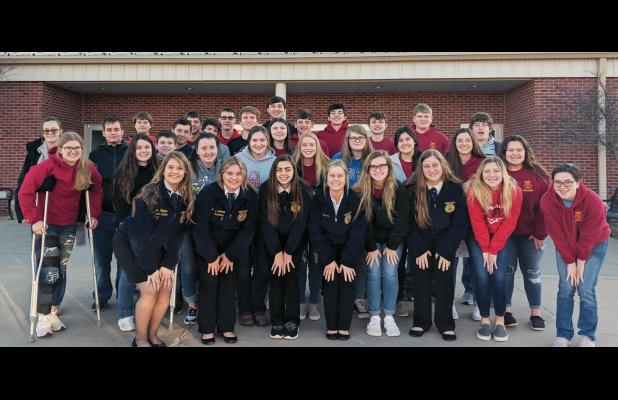 Auburn FFA Crowns Three District Champions from Recent Contests