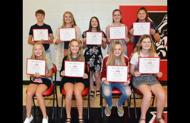 Eighth Grade Academic Achievements Of Auburn High Class of 2024 Saluted