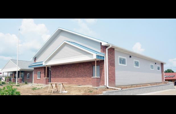 New ESU 4 Building Nears Completion