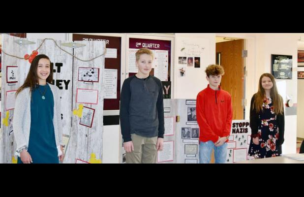 District History Day Contestants from AMS