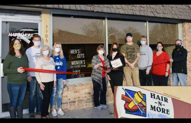 Ribbon Cutting Ceremony for Hair-N-More