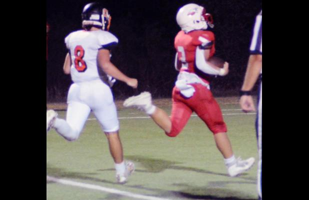 Eagles Blow Out Griffins 77-8 on Homecoming Night