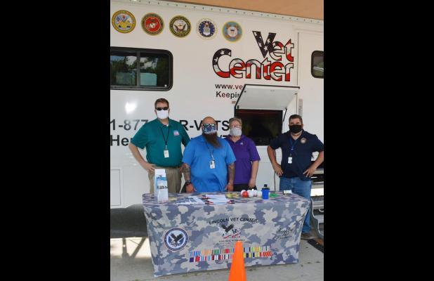 Lincoln Mobile Vet Center Was Set Up In Auburn June 17