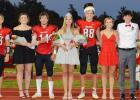 2020 Auburn High Schooll Homecoming Royalty