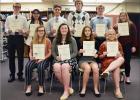 Eleven Auburn High School National Honor Society Members Were Initiated on Feb. 10th