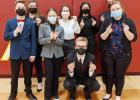 Bulldog Speech Third at District Meet; Seven Students Qualify for March 18th State Competition in Kearney