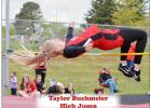 Four Eagles Advance to Class D State Track and Field