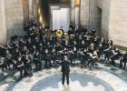 AHS Symphonic Band Plays At Nebraska State Capitol